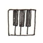 ピアノ アイコン