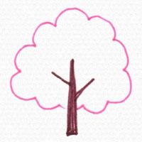 桜の木の描き方