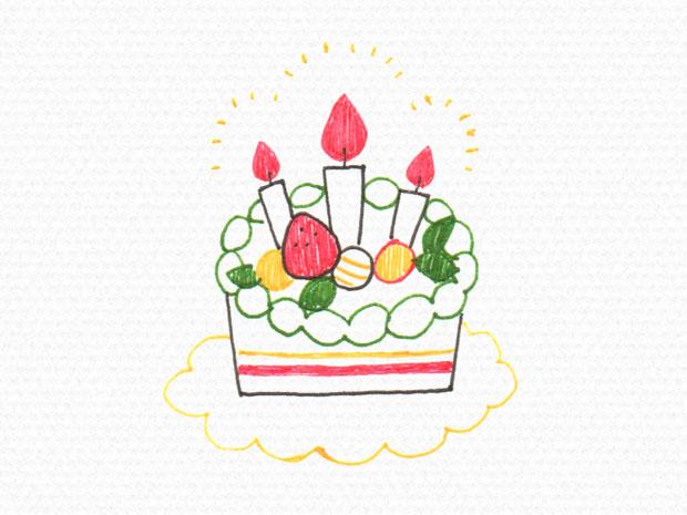 ボールペンイラストのおすすめサイト花誕生日アイテムの簡単な描き方は