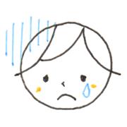 悲しみ 表情