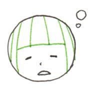 眠い 表情
