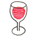 ワイングラス 立体